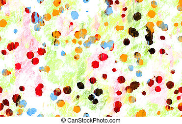 Grunge Paint Splatter As Art Painted Background