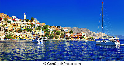 Greek islands, Symi - holidays in beautiful Greek islands