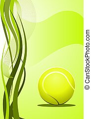 Tennis Background - Abstract tennis Background