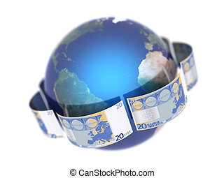 Euro, covering the Earth 2 - Euro, covering the Earth made...