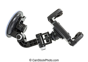 Holder - Car accessory holder isolated on white, clipping...