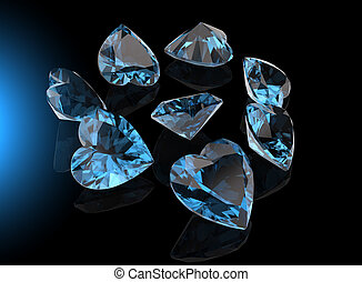 Heart shape gemstone Collections of jewelry gems - I love...