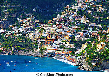 Positano - picturesque Amalfi coast of Italy