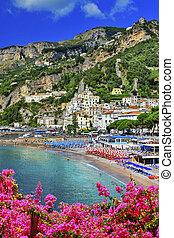 Amalfi, Italy - Beautiful coastal town