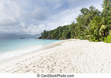Anse Soleil, Mahe, Seychelles - Beautiful Anse Soleil in the...