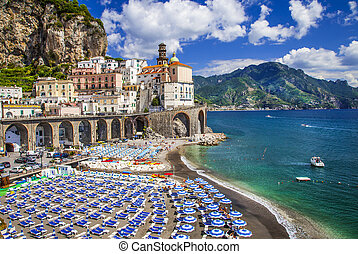 Bella Italia series  -  Atrani village, Amalfi coast