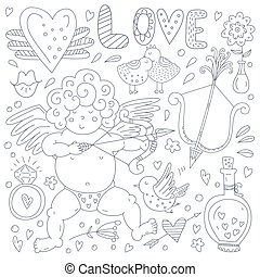 Valentines Day Doodle Collection