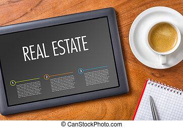 Tablet - Real Estate