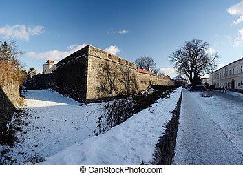 Medieval Uzhgorod castle,Ukraine - Medieval Uzhgorod castle...