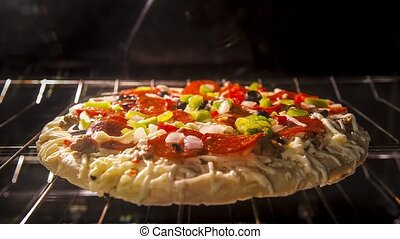 Rising Crust Pizza Time-lapse - Rising Crust Pizza in the...