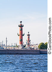 Rostral column and Saint-Petersburg exchange - Rostral...