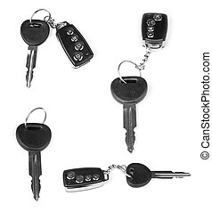 collection of keys with car alarm 2