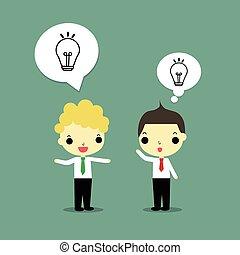 talk about idea