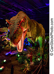 Dinasours Unearthed - Allosaurus - Portland, Oregon - AUGUST...