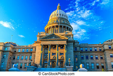 Idaho State Capitol Building - Boise, Idaho - JUNE 29, 2012:...