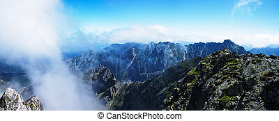 Panorama from the top Polish Tatras - Panorama from the top...