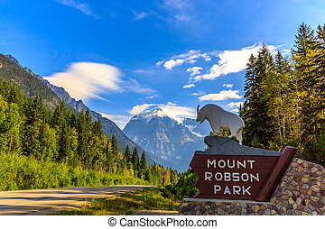 Mount Robson Park - Mount Robson Provincial Park is a vast...