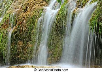 Waterfall of Bad Urach, Germany - The waterfall of Bad Urach...