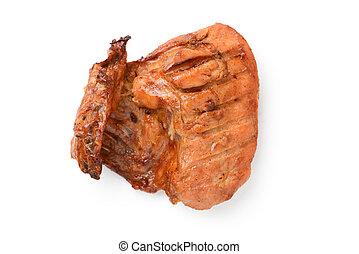 roast chicken thigh