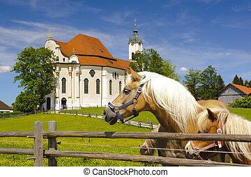 landmark church Wieskirche