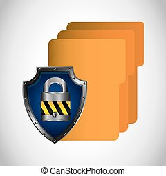 security data design, vector illustration eps10 graphic