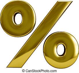 Gold Percentage Sygn