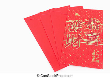 Red envelope,Chinese New Year Money Red Packet.