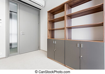 Office room in business centre - Interior of office room in...