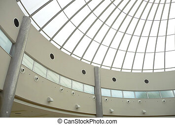 Building Roof structure - Modern building roof structure...
