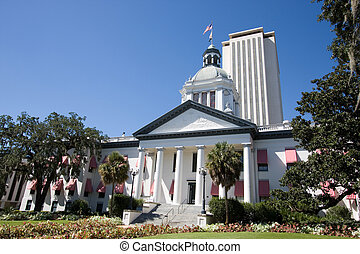 Florida Capital - The old Florida State Capital building,...