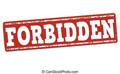 Forbidden stamp