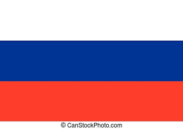 Russian Federation official flag - The official flag of the...