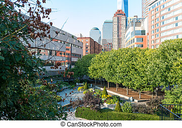 Green space within the concrete jungle - Beautiful and...