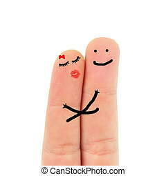 fingers in love
