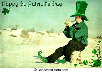 Saint Patrick Day - Card for St. Patrick's Day