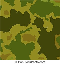 Stylized vector camouflage pattern