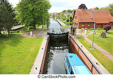 Boot Lock Plau am See - the boot lock in Plau am See,...
