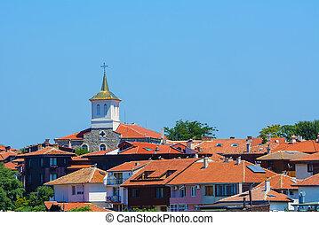 Nesebar - Holy Mother of God Church. Nesebar, Bulgaria