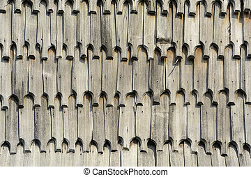 Wooden Roof Background - Background From The Wooden Roof...
