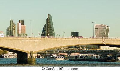 Waterloo bridge at daytime