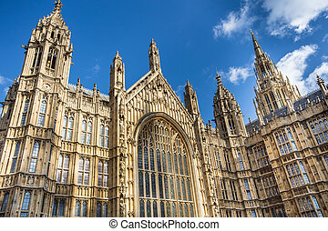 Palace of Westminster, House of Parliament London
