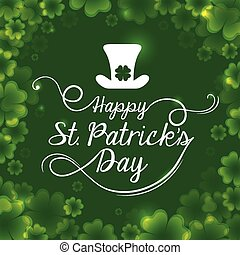 st patrick day - st patrik day design, vector illustration...