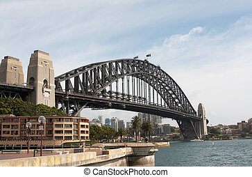 Harbour Bridge - Sydney Harbour Bridge in Australia.