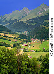Near Gruyeres, Canton of Fribourg, Switzerland - Beautiful...