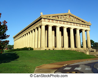 Parthenon in Nashville, TN - Early morning at the Parthenon...