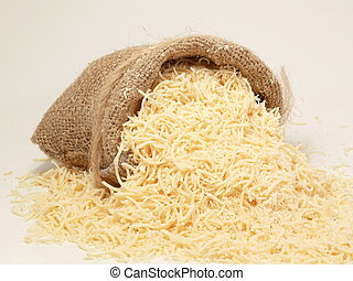 parmesan in the bag - parmesan-cheese