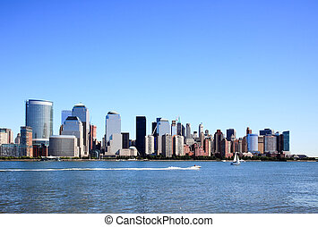 The Lower Manhattan Skylines New York City
