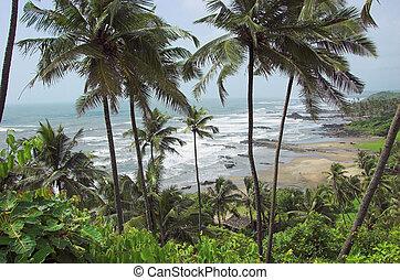 Vagator Beach - Shooted in Vagator, GOA, India, september...