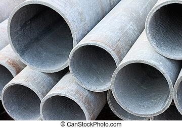 asbestos pipes
