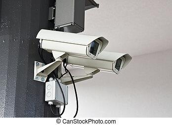 Al aire libre, vigilancia, camaras